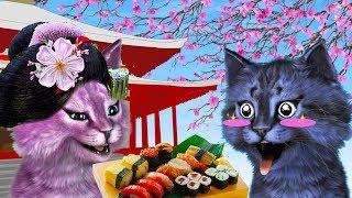 МЫ С ЛЕО ОТКРЫЛИ ЯПОНСКИЙ РЕСТОРАН В РОБЛОКС roblox Sushi Factory Tycoon