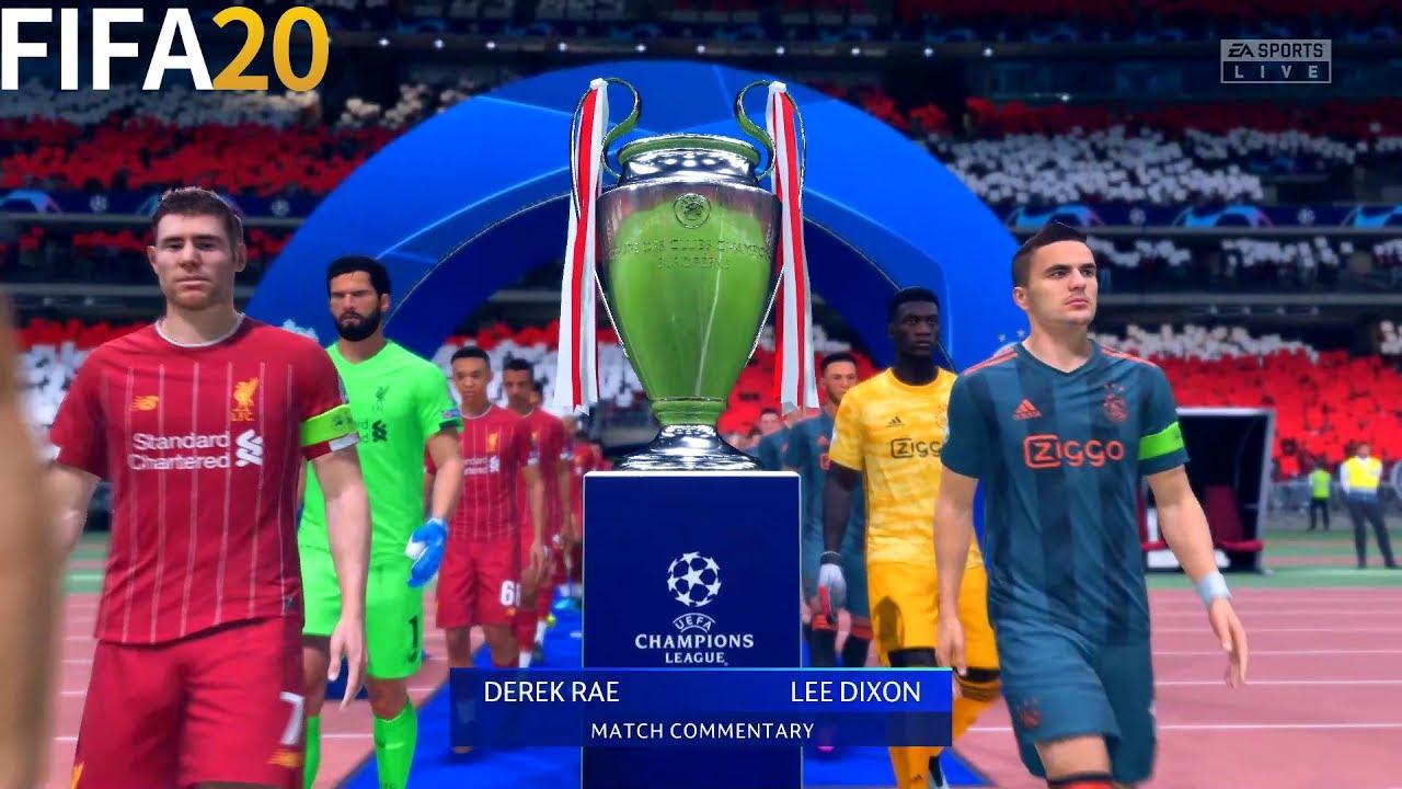 Fifa 20 Liverpool Vs Ajax Final Uefa Champions League Full Match Gameplay Youtube
