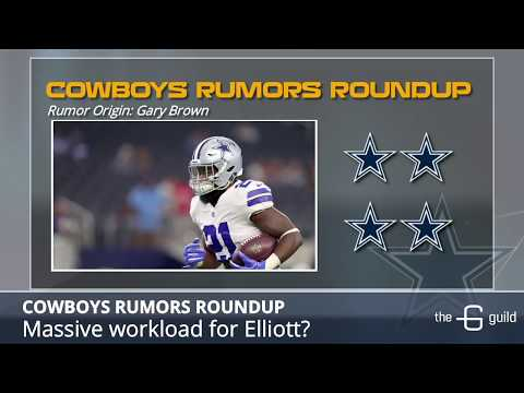 Cowboys Rumors: Cutting David Irving, Ezekiel Elliott's Workload And Dak's Chemistry With Receivers