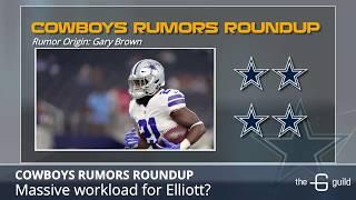 Cowboys Rumors: Cutting David Irving, Ezekiel Elliott's Workload And Dak's Chemistry With Receivers
