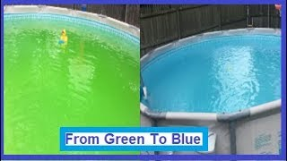 Cleaning Summer Elite Pool From Green To Clear!