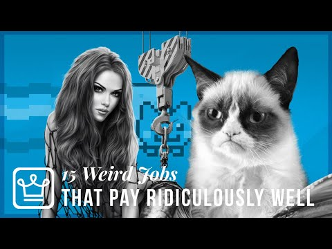 15 Weird Jobs That Pay Ridiculously Well