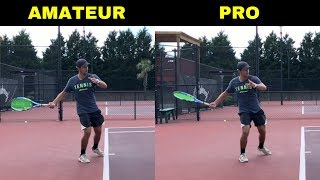 PRO SECRET for MASSIVE TOPSPIN FOREHAND! Easy trick and drills for increasing topspin