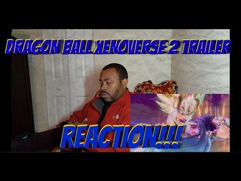 Dragon Ball XENOVERSE 2 Announcement Trailer REACTION!!!