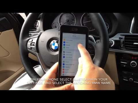 Pairing BMW Bluetooth (2014 and later models)