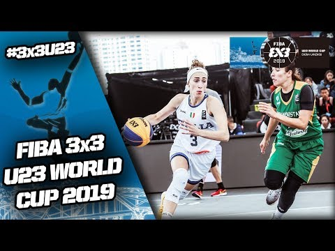 Italy v Turkmenistan | Women's Full Game | FIBA 3x3 U23 World Cup 2019