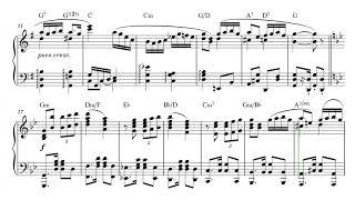 Carlos Gardel - Por Una Cabeza - Piano Solo - Intermediate Level // Sheet Music - Score