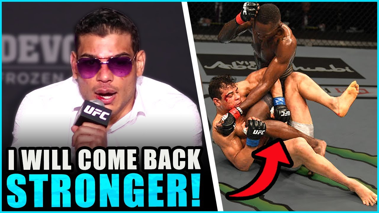 Paulo Costa reacts to his TKO loss to Israel Adesanya, Khamzat Chimeav sends a message to Israel