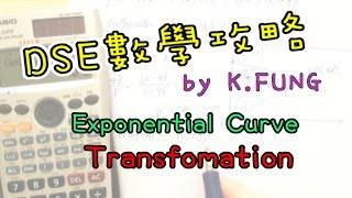 [學生問題#042] Exponential Curve x