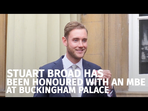 Stuart Broad Speaks On England Captaincy After Being Awarded An MBE