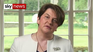 Arlene Foster to step down as DUP leader and Northern Ireland's First Minister