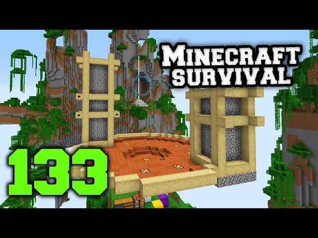 Minecraft Prezivljavanje 133 | ELITRA KURS part 2