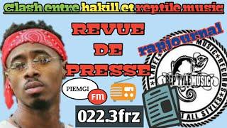 Urgent! L'affaire hakill et reptile music en revue de presse