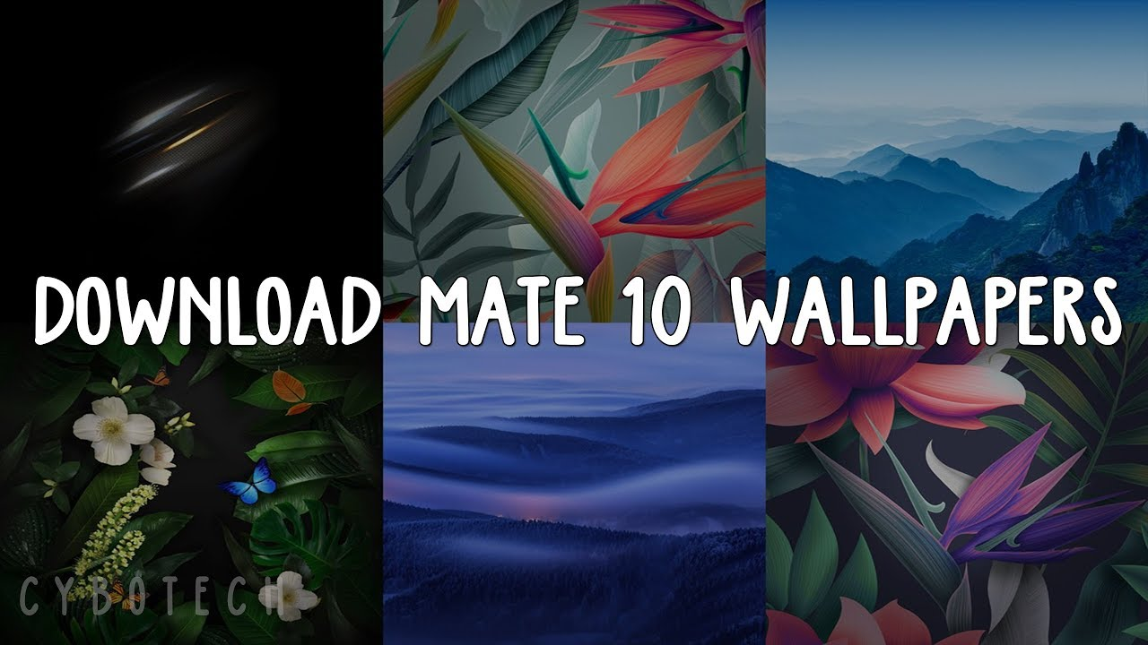 How To Download Huawei Mate 10 Wallpapers In Any Android Phone Youtube