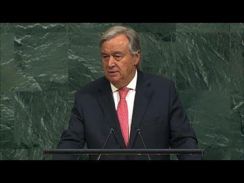 António Guterres (Secretary-General) Addresses General Debate, 72nd session