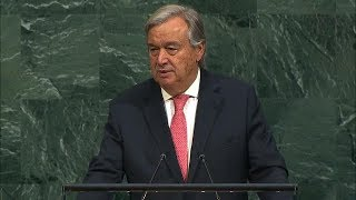 António Guterres (Secretary-General) Addresses General Debate, 72nd session thumbnail