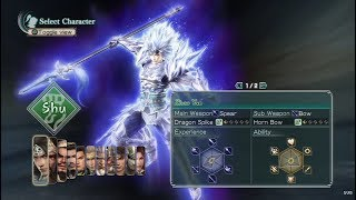 Dynasty Warriors: Strikeforce Opening and All Characters [PS3]