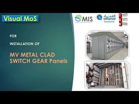 MV Clad Switch Gear Instalaltion And Testing Procedure