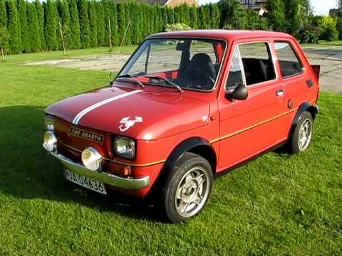 fiat 126 abarth youtube. Black Bedroom Furniture Sets. Home Design Ideas