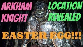 Killer Croc in Arkham Knight?! (Hidden Easter Egg/Secrets)