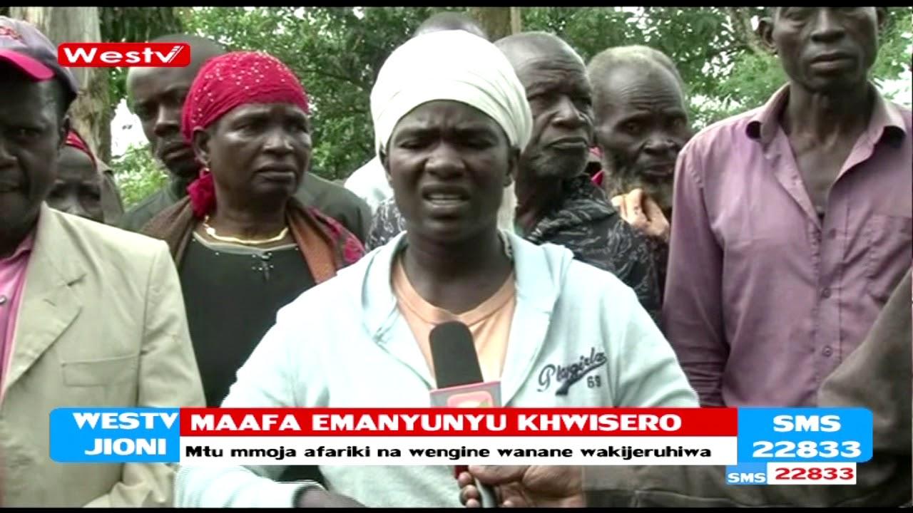 Download Maafa kutokana na kupigwa kwa radi Emanyunyu Khwisero- Kakamega