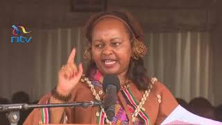 Anne Waiguru's speech at her inauguration as Kirinyanga Governor