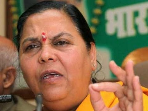 Uma Bharti wont contest against Sonia Gandhi in Rae Bareli