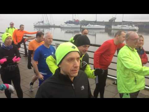 Derry City Parkrun does the Mannequin challenge!
