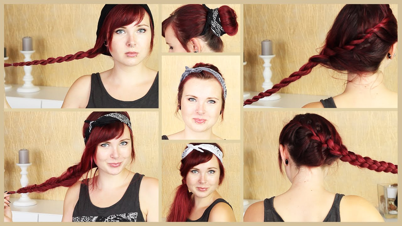 Tutorial - 7 LIEBSTE FRISUREN ...