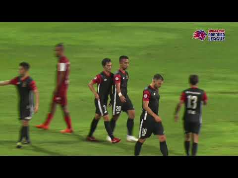 2018 Singapore Premier League: Home United FC 3-1 Brunei DPMM FC