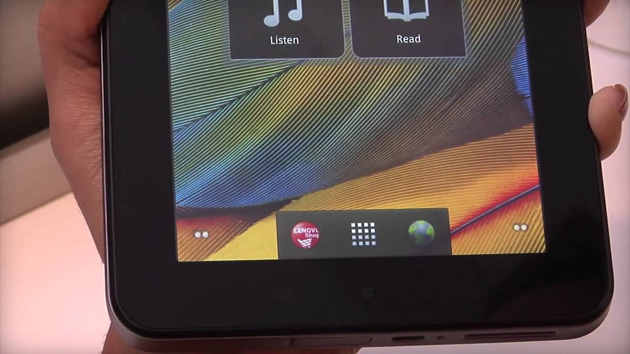 Tablet A1 07 Unlocking The Screen Youtube