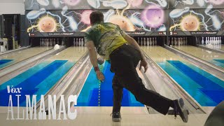 The hidden oil patterns on bowling lanes thumbnail