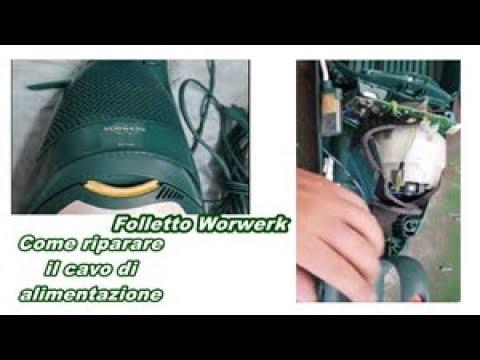Schema Elettrico Folletto Vk 121 : Folletto vorwerk come si aggiusta il cavo di alimentazione youtube
