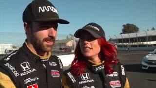 Hinchcliffe takes DWTS partner Sharna Burgess for a ride around Sonoma