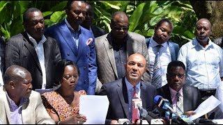 Peter Kenneth, Karua join Mt Kenya leaders in defending Uhuru