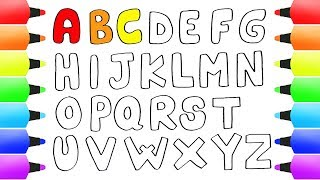 Learn LETTERS for Kids How to Draw ABC & All the Letters of the Alphabet!