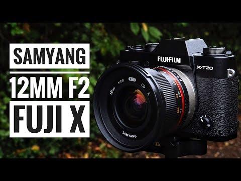Samyang 12mm f2 NCS CS Lens - Fuji X Series!