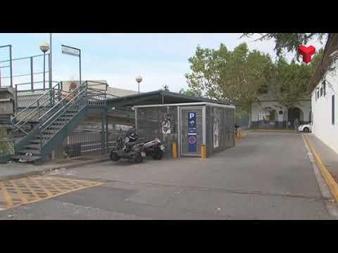 FGC treballa en la millora dels accessos i l'aparcament de l'estació de Sant Quirze