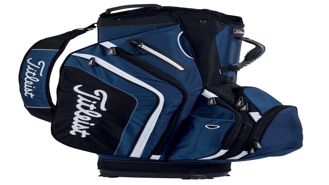Titleist Golf 2016 Lightweight Cart Bag - YouTube afdc097b8c896