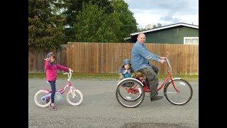 видео трехколесный велосипед