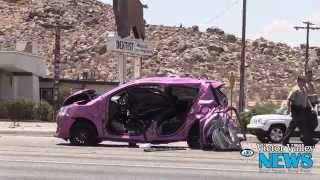 Three Vehicle Traffic Collision on Highway 18 in Apple Valley