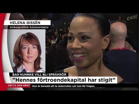 """Gissén om Bah Kuhnke - """"Har en lyskraft som inte de andra har"""" - Nyheterna (TV4)"""