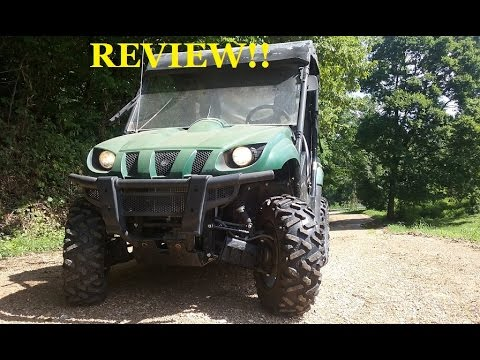 REAL Review!! 2000 YAMAHA RHINO!