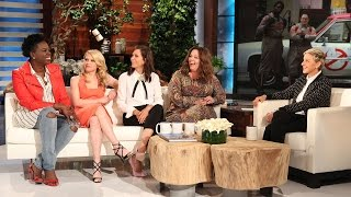 The 'Ghostbusters' Gals Talk Chris Hemsworth