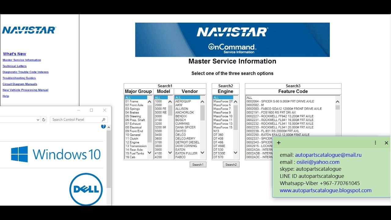 international truck isis navistar oncommand service information youtube [ 1280 x 720 Pixel ]