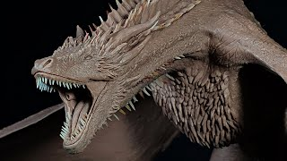 Sculpting a Dragon from Game of Thrones in Monster Clay | Step by Step Process