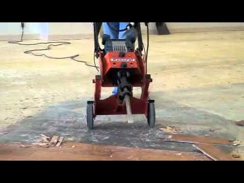 CTS12 RIP-R-STRIPPER Demo Video | Removing Wood Flooring. - CTS12 RIP-R-STRIPPER Demo Video Removing Wood Flooring. - YouTube