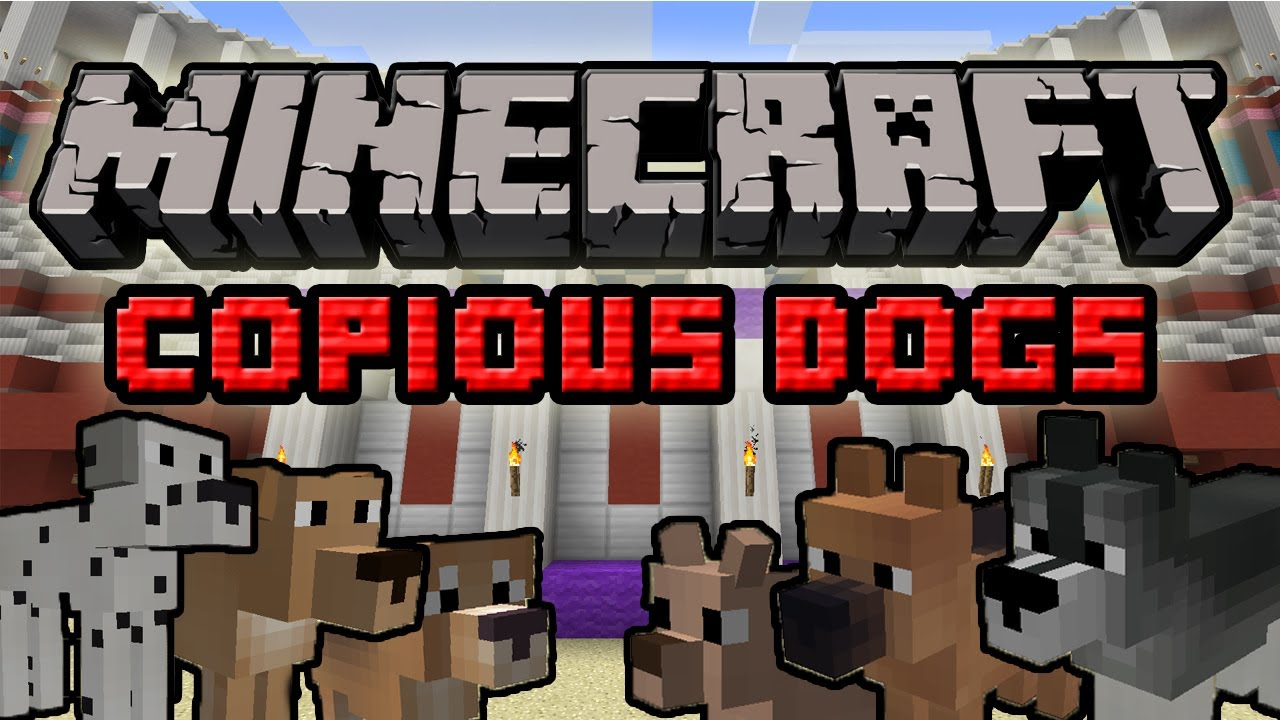 Minecraft Dogs Mod