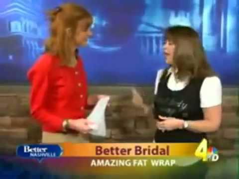 Body Wraps On The News| It Works Body Wrap Demo