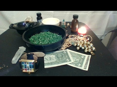 How to make hoodoo prosperity rice(lucky green rice).